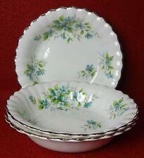 """ROYAL STAFFORD England COQUETTE pattern Fruit Bowl - Three (3) -5-1/4"""" Trim Wear"""