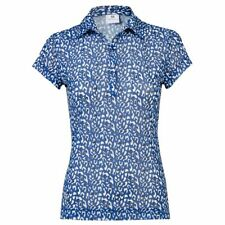 DAILY SPORTS BELLA MESH POLO size LARGE colour ULTRA BLUE
