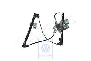 Genuine Volkswagen Window Regulator With Motor Right NOS SEAT VW 6K4837402P