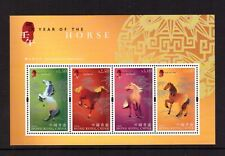 Hong Kong MNH 2002 Chinese New Year Horse sheet mint stamps