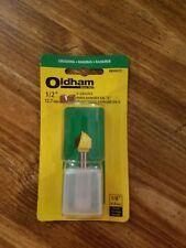 "Oldham Grooving V-Groove 1/2""  RBVG12 Router bit"
