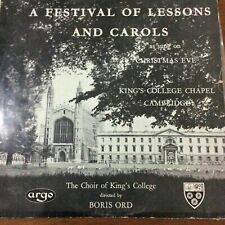 The Choir Of King's College by Ord - A Festival Of Lessons And Carols LP 1955