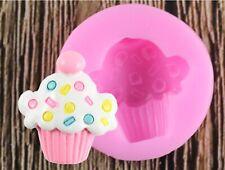 Silicone Mould mini cupcake muffin chocolate clay wax soap resin sugarcraft