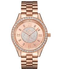 JBW $795 WOMEN'S MONDRIAN DIAMONDS/CRYSTALS 18K ROSE GOLD PLATE WATCH J6303C