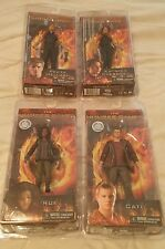 THE HUNGER GAMES (NECA) series 2 action figures (complete set of 4) MINT IN BOX