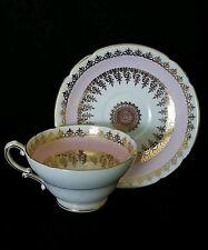 Vintage Stanley England fine bone china tea cup & saucer, circa 1950's
