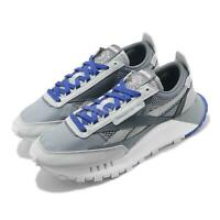 Reebok CL Legacy Grey Blue White Men Classic Casual Lifestyle Shoes FZ0815