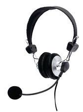 Auriculares audífonos 3.5MM con Micrófono MIC Para Computadora Pc Laptop