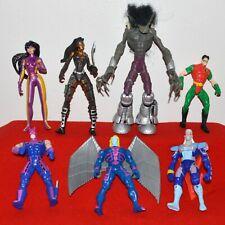 Action Figure Marvel McFarlane Spawn Hawkeye Bat Robin X Men Century Archangel