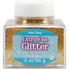 Advantus Extra Fine Glitter 2 Ounces Gold Sul2fgl-50862