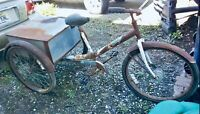 "Vintage Workman Trike ""Mover"" Vintage Bicycle"