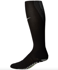 Nike Unisex Black Grip Strike Cushioned OTC Knee High Socks Sz 3 6407