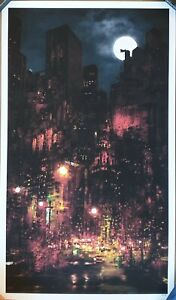 Mark Chilcott - Red City - Batman Art Print - Limited Edition of 100 - 2021