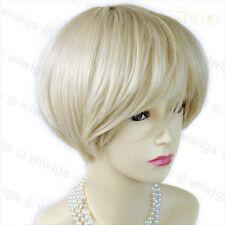Wiwigs Short Posh Vanilla Blonde Summer Style Ladies Wig