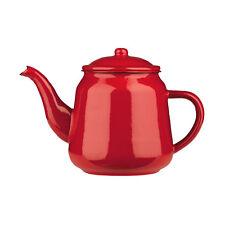 900ml Or 2200ml Enamel Teapot Vintage Loose Leaf Tea Coffee Pot Kettle Rustic