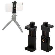 "Cell Phone to Tripod Mount Smartphone Adapter Holder Clip 1/4"" Screw Ulanzi"