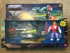 Masters of the Universe Origins Prince Adam Sky Sled MOTU Retro He-Man Mattel