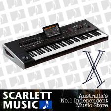 Korg PA-4X Oriental 61 Note Arranger Keyboard PA4X w/Double Braced Piano Stand.
