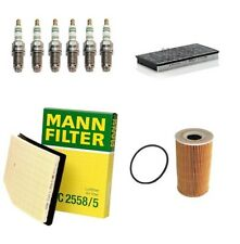 SERVICE KIT FITS PORSCHE BOXSTER 986 2.7 3.2  AIR OIL CABIN FILTER SPARK PLUGS