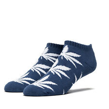 HUF - The No Show Plant Life Crew Sock in Court Blue NWT HUF FREE SHIPPING