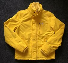 BNWT - Abercrombie & Fitch Mens Yellow Fleece Lined Jacket - Size Large