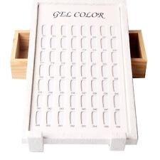 56 Colors Nail Gel Color Display Holder Nail Gel Polish Stand Nail Art Tool
