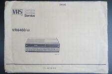 PHILIPS VR6460/00 Original VHS Service-Manual/Schaltplan! Unbenutzt !