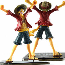 Anime One Piece Zero Monkey D. Luffy the New World PVC Figure Toy 16cm/6.3""