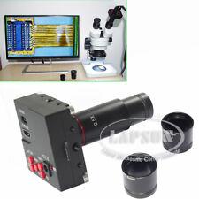 1080P 60FPS HDMI HD Digital TF Eyepiece Camera for Stereo Binocular Microscope S