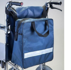 ZIP TOP WHEELCHAIR BAG SHOPPING/STORAGE/CARRY BACK PACK HOLDALL