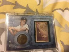 2015 TOPPS Series 2 Roger Maris Coin/stamp Penny 39/50 New York Yankees