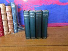 The Christmas Book - Burlesques - Henry Esmond - Pendinnis - 4 Thackeray Books