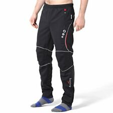 NEW 4ucycling mens wind stopper active pants black 3XL PROMISE FREE SHIPPING