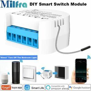 Milfra TB41 Wireless Wi-Fi Mini Tuya Smart Switch Module Alexa Google Home