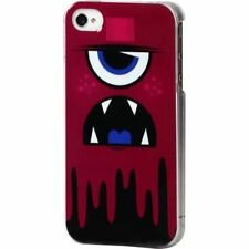 COQUE iPHONE 4 4S MONSTER VIOLET SILICONE RIGIDE (TPU)