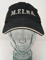 Shipyard Brewing Monkey First IPA Baseball Cap Hat Cotton Black OSFM Strap Back