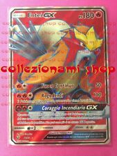 71/73 Entei GX - FULL ART - LEGGENDE IRIDESCENTI - ITALIANO - POKEMON SM 3.5