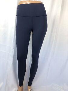 LULULEMON size 2 navy blue leggings pants