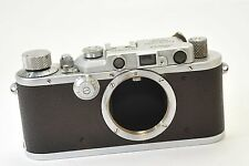 LEICA Model IIIa  35mm rangefinder camera by LEITZ Wetzlar from 1935, after CLA