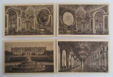 Postkarten Lot Sammlung König Schloss Herrenchiemsee Chiemsee 4 x alte AK ~1930