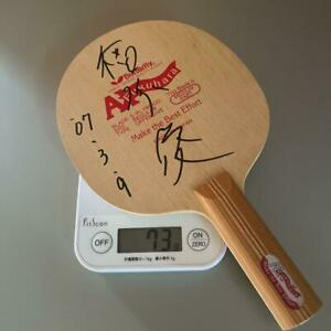 Table Tennis Racket Obsolete Ai Fukuhara St Black Butterfly Autographed No Box