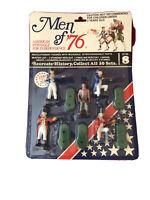 Men of '76 American Independence Set No. 8 Revolutionary War Figures NOS 1975