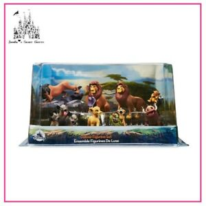 DISNEY THE LION KING DELUXE FIGURE FIGURINE CAKE TOPPER PLAY SET NEW IN BOX