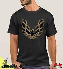 Trans Am Firebird 1974-76 T/A Pontiac GOLD Bird Logo Retro T-shirt