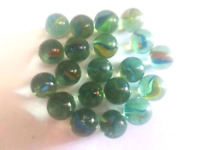 LOT DE 20 BILLES EN VERRE 16 MM