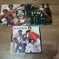 THE TEMPTATIONS :DO THE TEMPTATION,HEAR TO TEMPT YOU,TRULY FOR YOU  VINYL RECORD