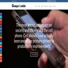 """Fully Stocked Dropshipping MOBILE PHONE STORE Website Business. """"Secret Bonuses"""""""