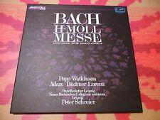 ♫♫♫ Mass in B-minor - Bach - Schreier/Suske * Eurodisc Digital 3LP Boxset ♫♫♫