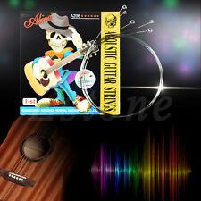 "10pcs Stainless Steel Alice Acoustic Guitar String 1st E String .012"" 0.30mm"