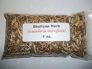 1 oz. Skullcap Herb (Scutellaria Lateriflora) Scullcap